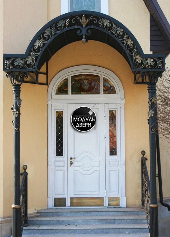 металлические арочные двери москва
