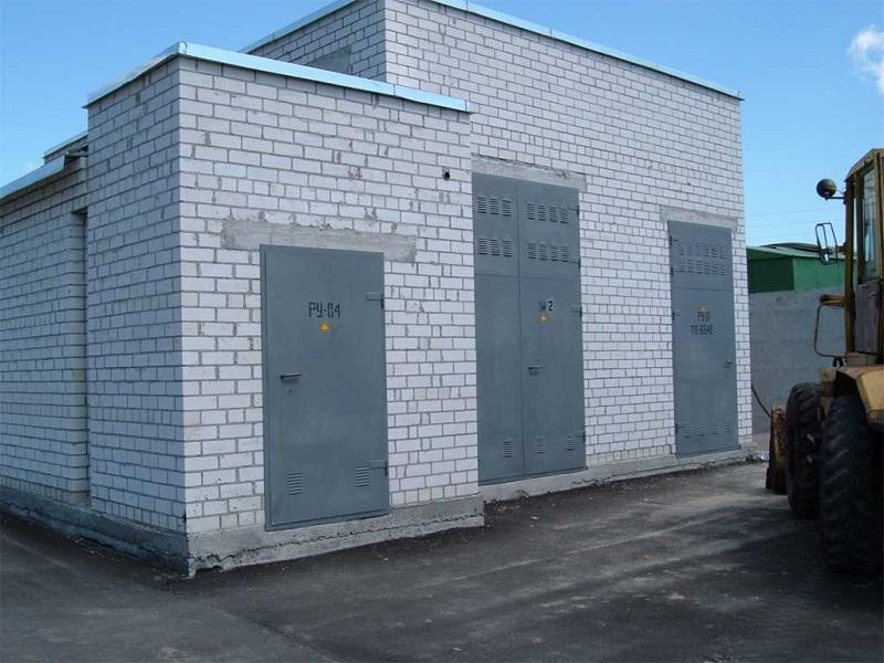 металлические двери наружные для здания подстанции