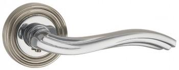 Ручка раздельная VENTO ML SN/CP-3 матовый никель/хром