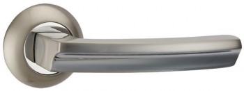 Ручка раздельная ALFA TL SN/CP-3 матовый никель/хром