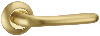 Ручка раздельная SIMFONIA TL SG/GP-4 матовое золото/золото