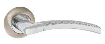 Ручка раздельная GEFEST TL SN/CP-3 матовый никель/хром