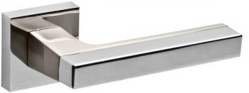 Ручка раздельная FLASH DM CP/SN-8 хром/матовый никель