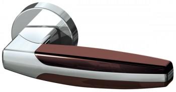 Ручка раздельная ARC URB2 CP/CP/Brown-16 Хром/хром/коричневый