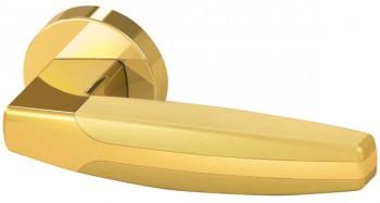 Ручка раздельная ARC URB2 GOLD-24/GOLD-24/SGOLD-24  Золото24/Золото24/Матовое золото 24