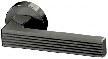 Ручка раздельная LINE URB6 BPVD-77 Вороненный никель