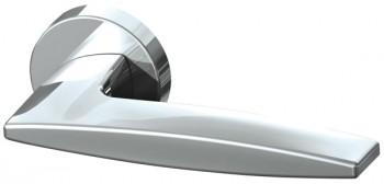 Ручка раздельная SQUID URB9 CP-8 Хром