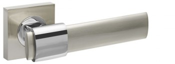 Ручка раздельная TWIST KM SN/CP-3