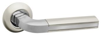 Ручка раздельная LARGO RM SN/CP-3