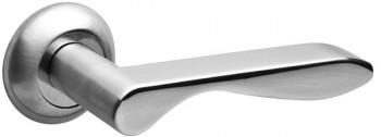 Ручка раздельная LINDA RM SC/CP-16 матовый хром/хром