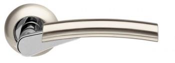 Ручка раздельная Vega LD21-1SN/CP-3 матовый никель/хром