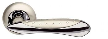 Ручка раздельная Corvus LD35-1SN/CP-3 матовый никель/хром