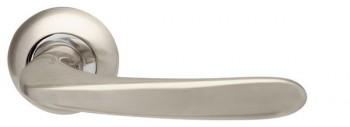 Ручка раздельная Pava LD42-1SN/CP-3 матовый никель/хром