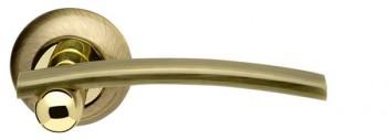 Ручка раздельная Mercury LD22-1AB/GP-7 бронза/золото