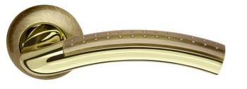 Ручка раздельная Libra LD26-1AB/GP-7 бронза/золото