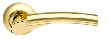 Ручка раздельная Vega LD21-1SG/GP-4 матовое золото/золото