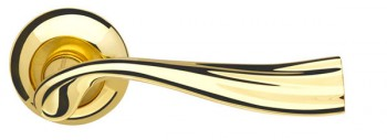 Ручка раздельная Laguna LD85-1GP/SG-5 золото/матовое золото