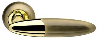 Ручка раздельная Sfera LD55-1AB/GP-7 бронза/золото