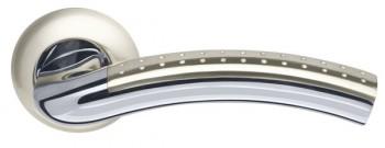 Ручка раздельная Libra LD26-1SN/CP-3 матовый никель/хром TECH (кв. 8х140)