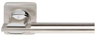 Ручка раздельная TRINITY SQ005-21SN/CP-3 матовый никель/хром