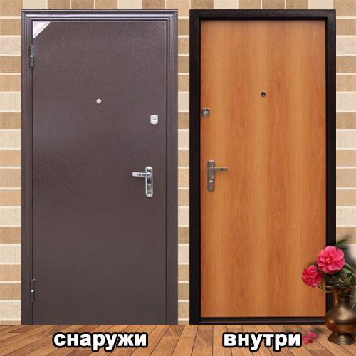 входные металлические двери в квартиру утеплённые
