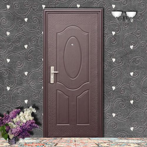 металлическая дверь в квартиру эконом класса