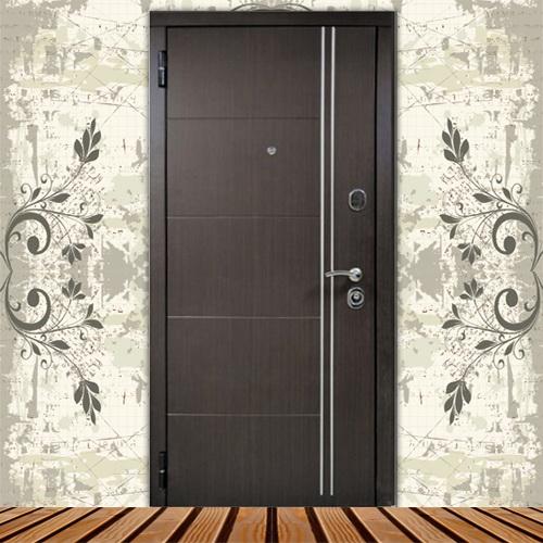 металлические квартирные двери красивые
