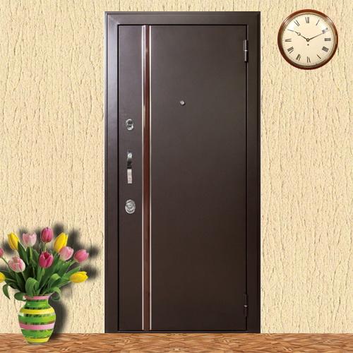 купить недорого входную дверь с порошковым покрытиям