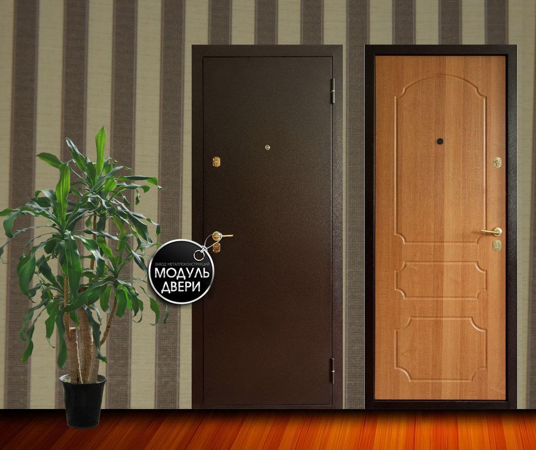 стальные двери с порошковым покрасом