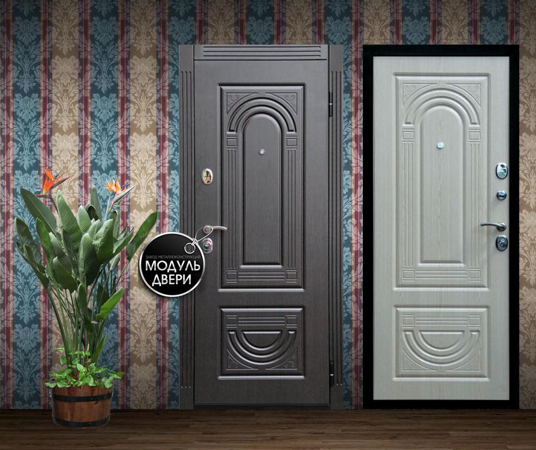 металлические двери мдф с двух сторон завод