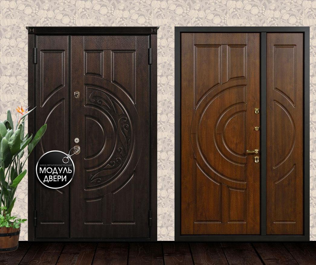 тамбурные металлические двери отделка мдф