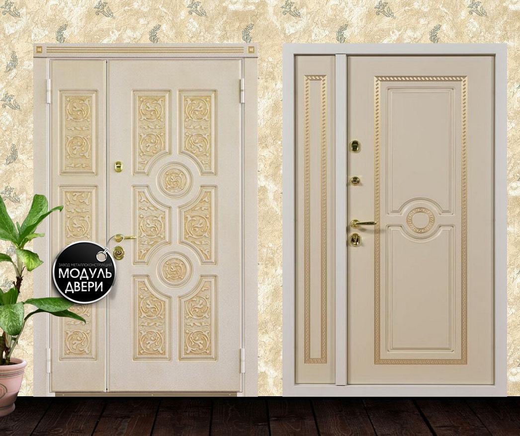металлические белые двери москва