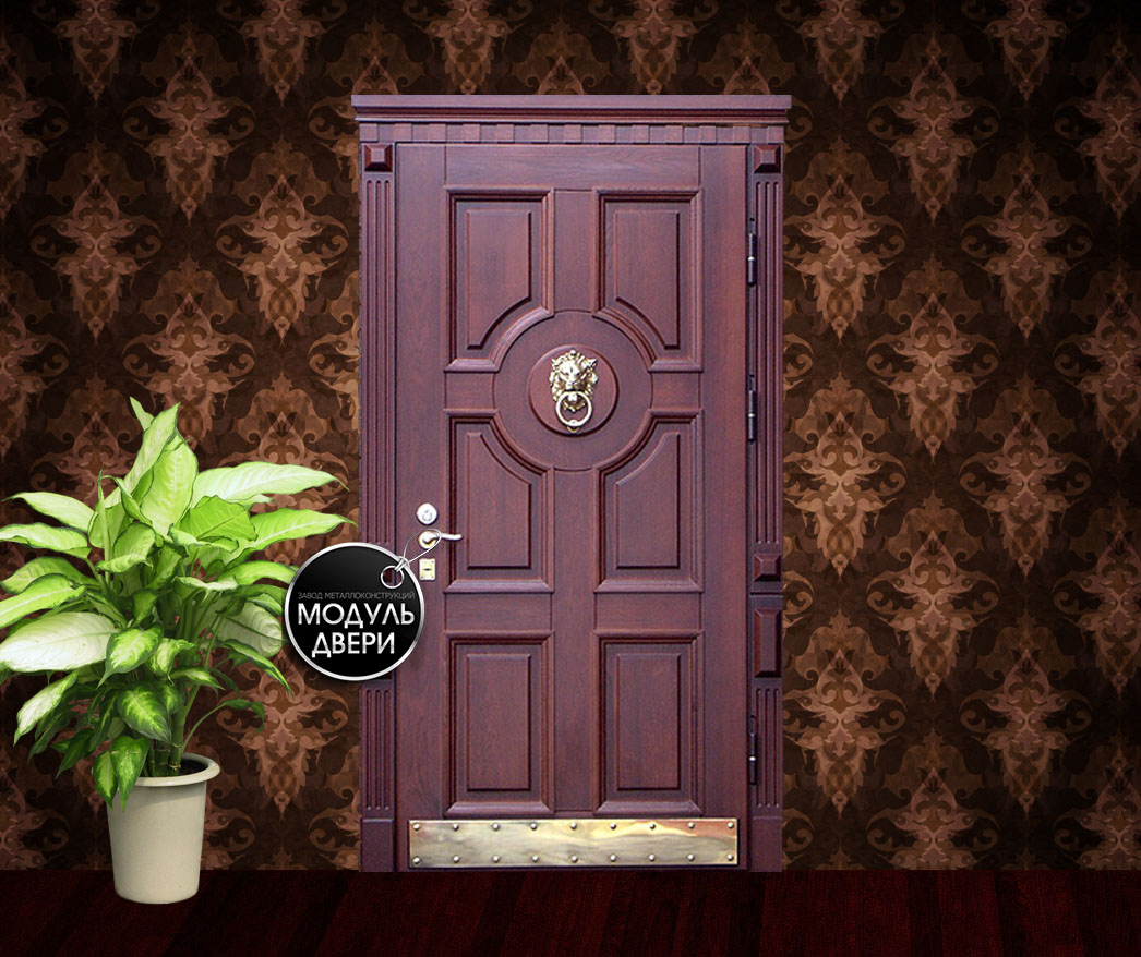 производство входные двери с домофоном