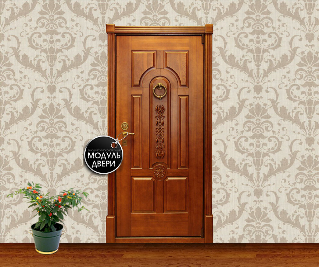 коричневые входные двери цены