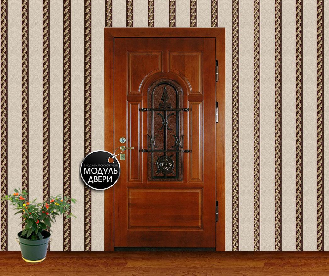 элитная металлическая дверь на частный дом