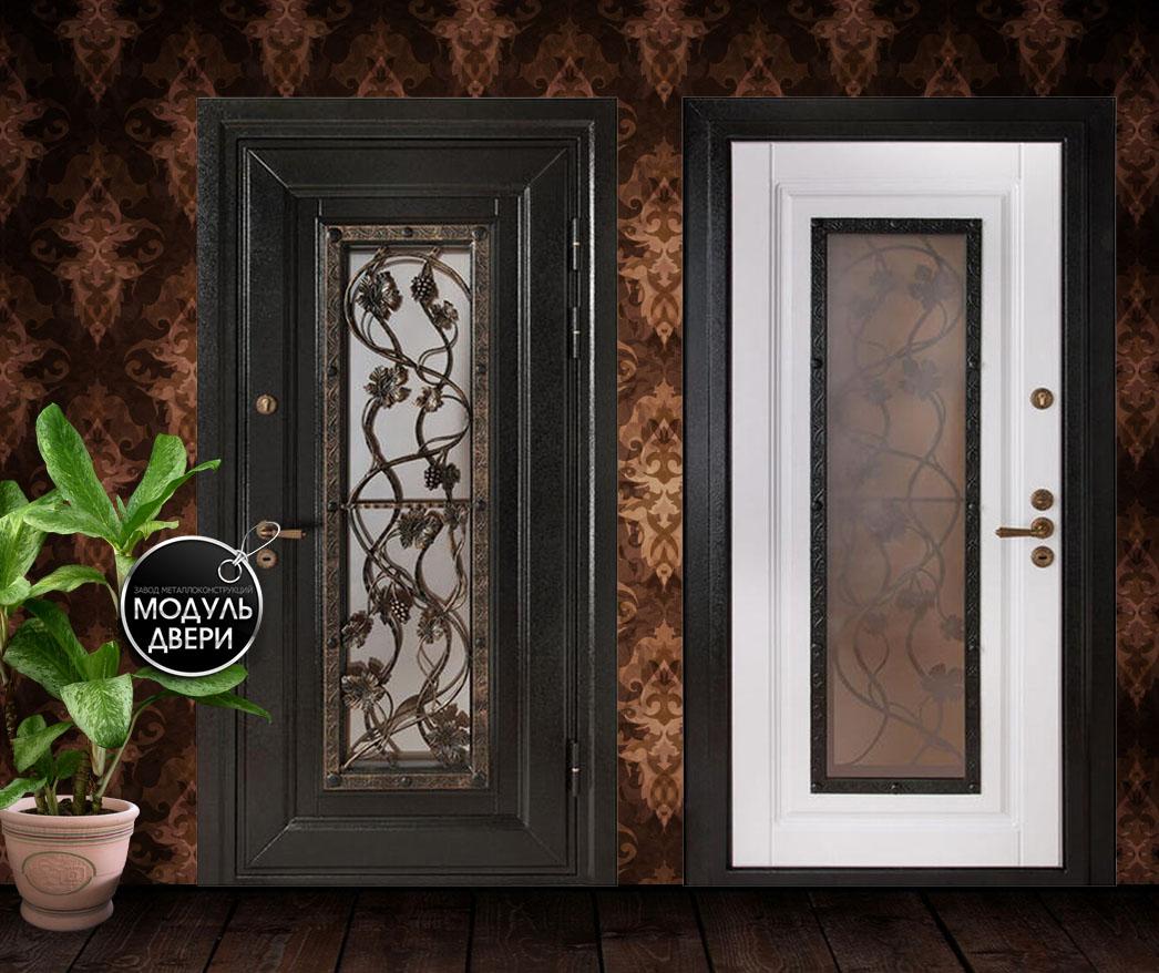 парадные входные двери в дом