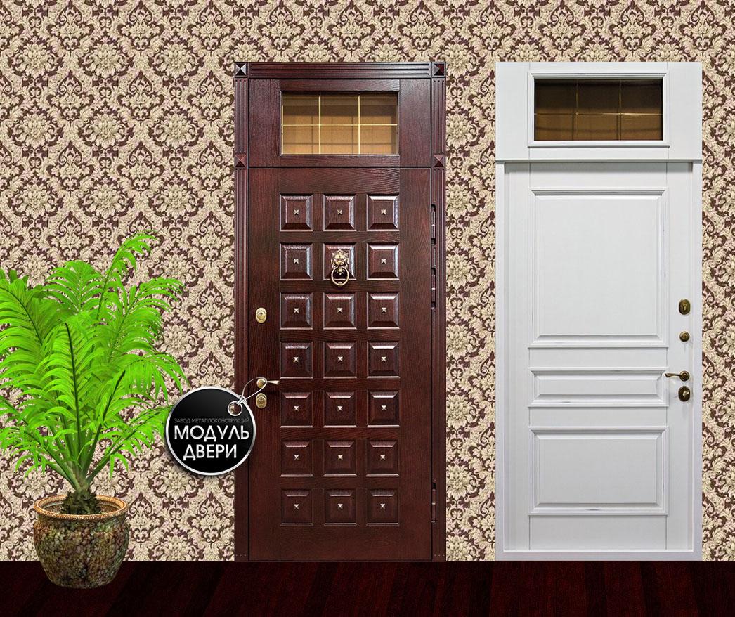 входная дверь с фрамугой купить