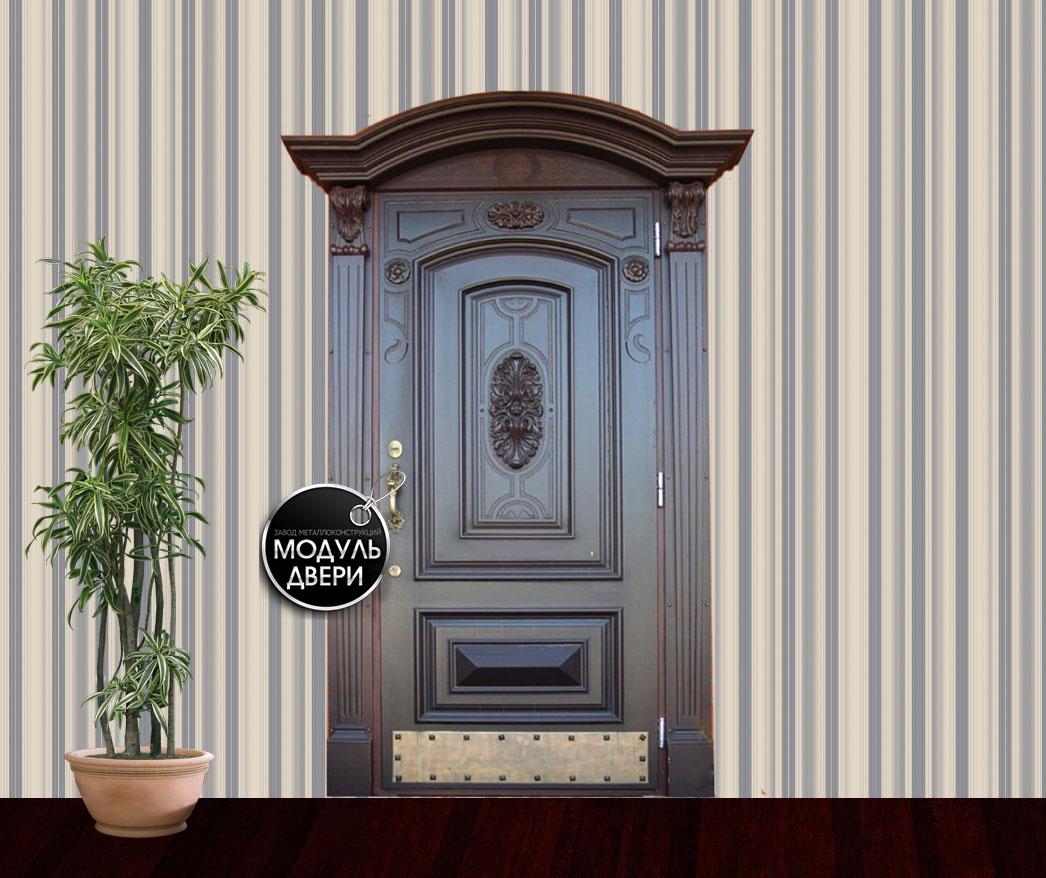 элитные металлические двери для коттеджа