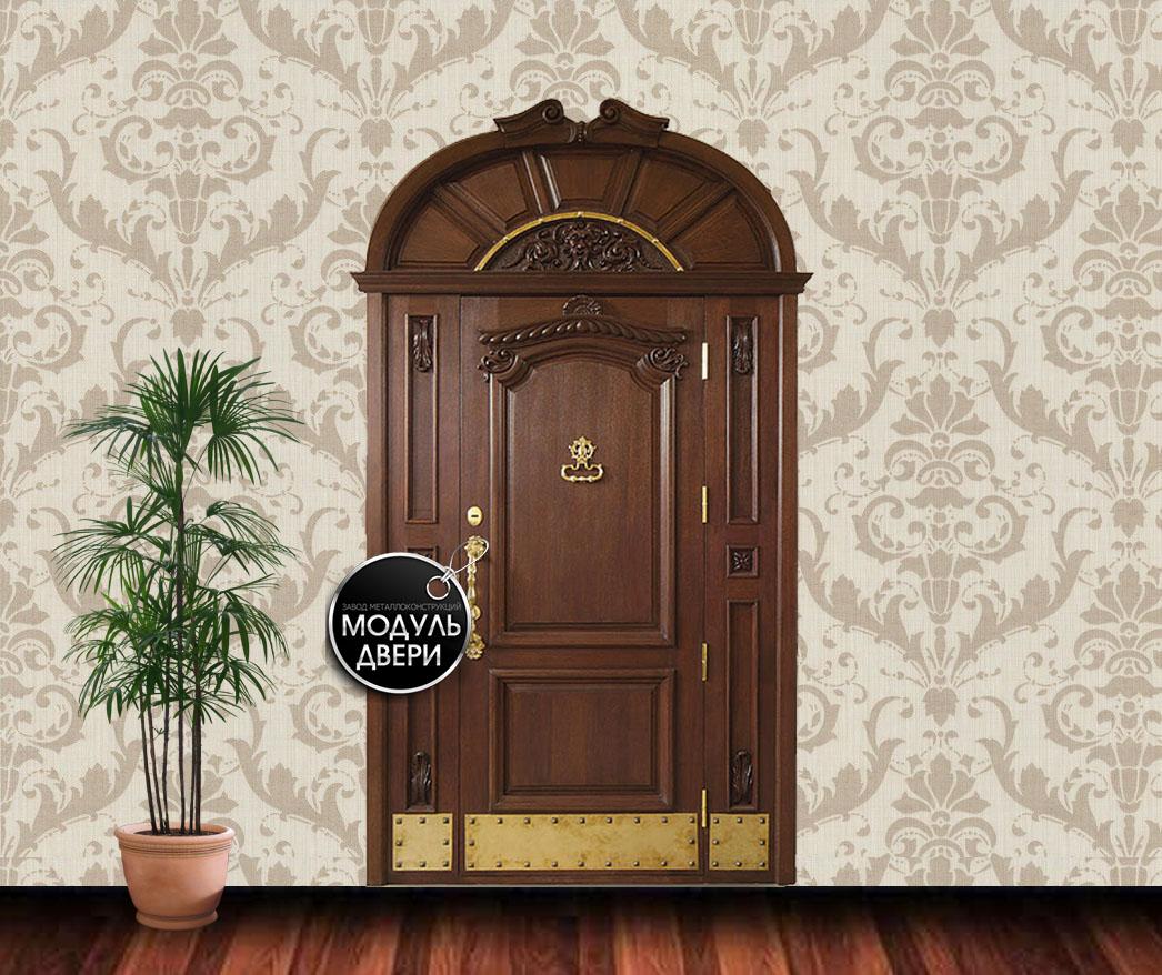 входные двери из массива для загородных домов