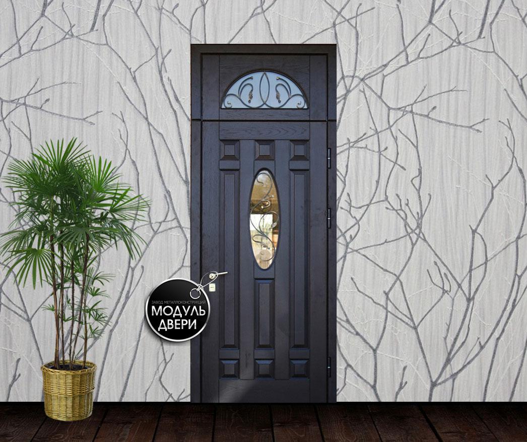 входные квартирные двери с стеклом