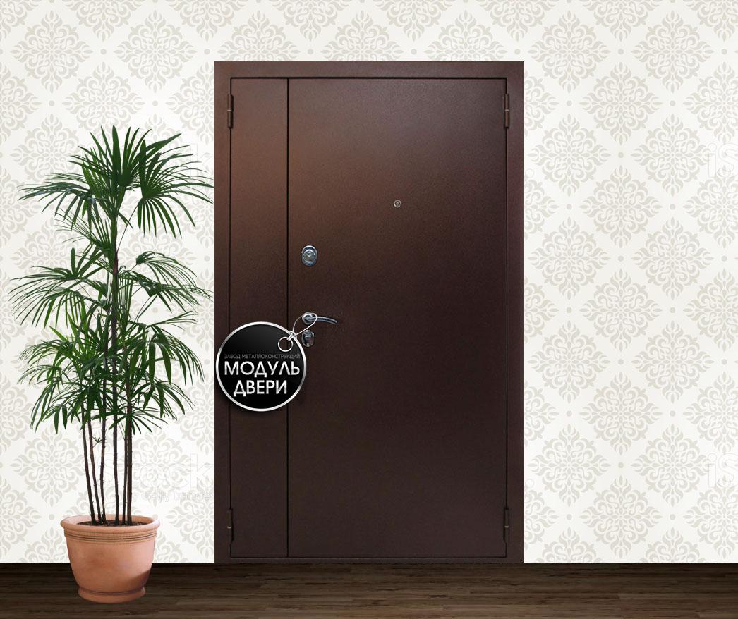 дверь железная двустворчатая г кубинка
