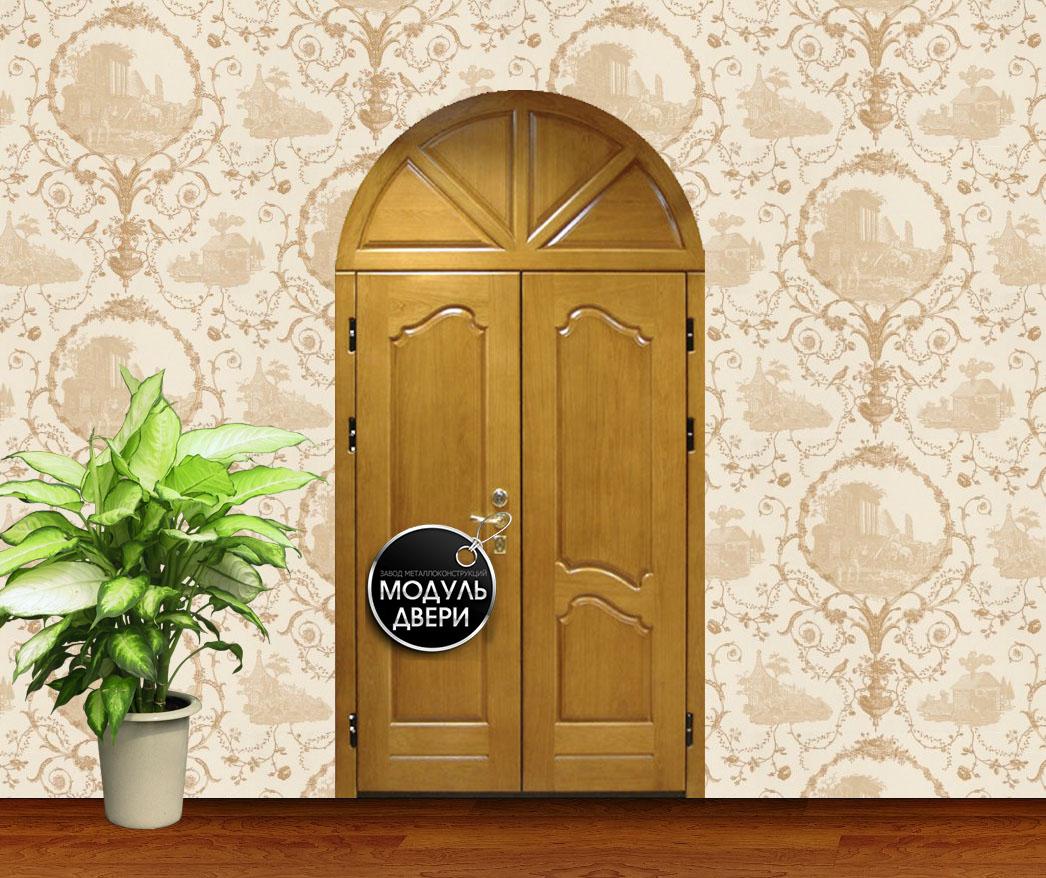 металлические двери арочные можайск