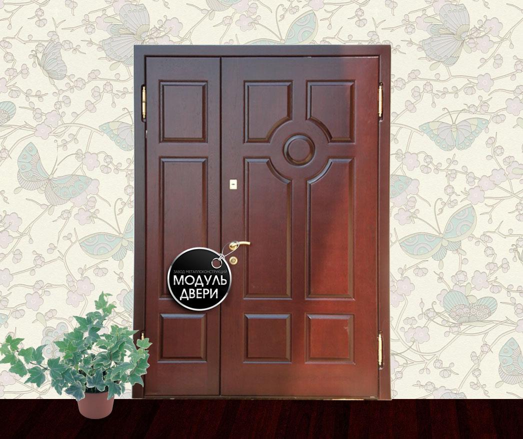 установка железной двери без к