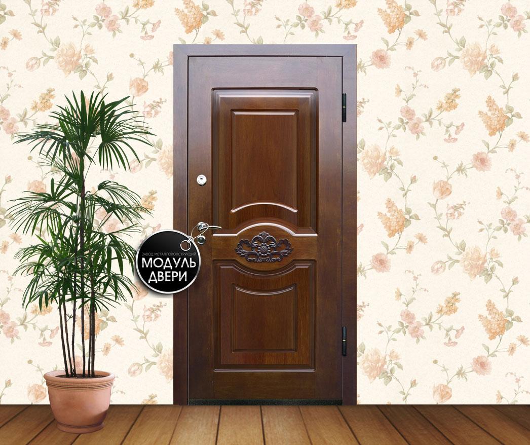 хорошая стальная дверь для коттеджа
