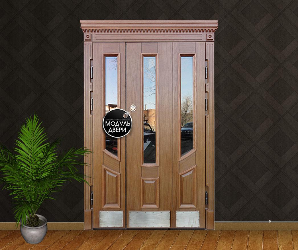 входные двери массив стеклопакет