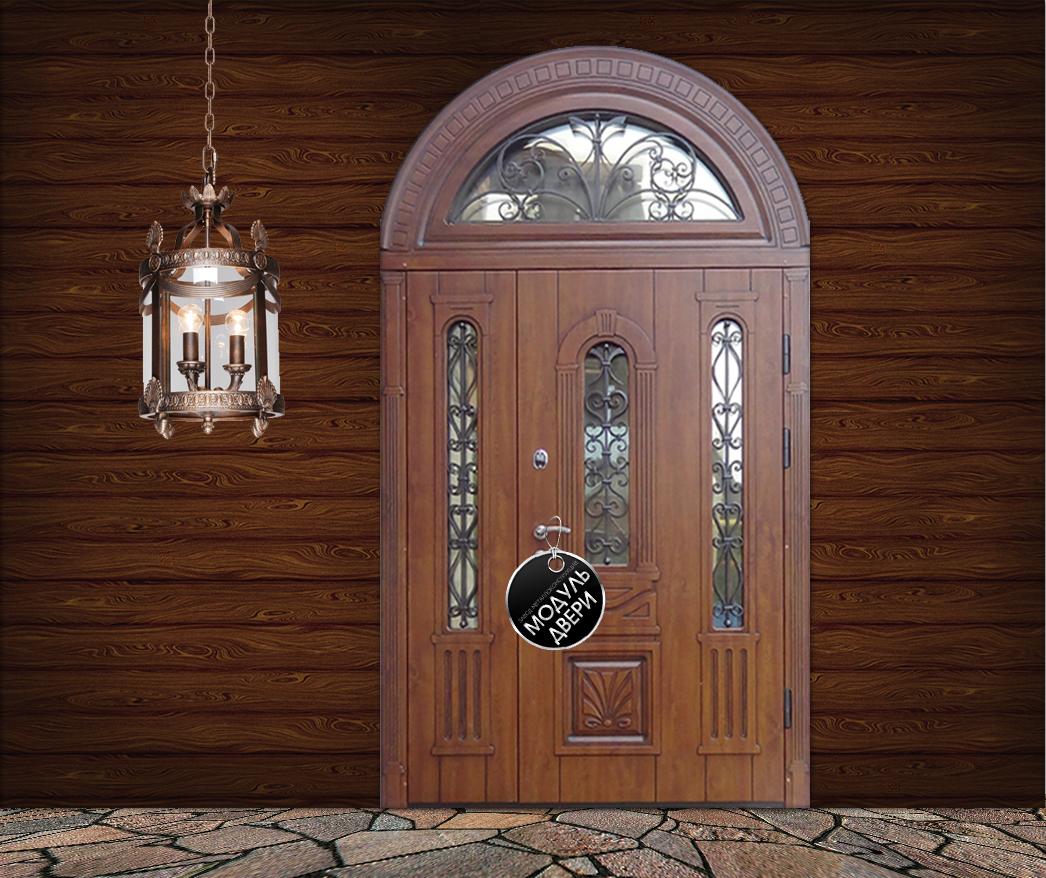 железная парадная дверь для дома
