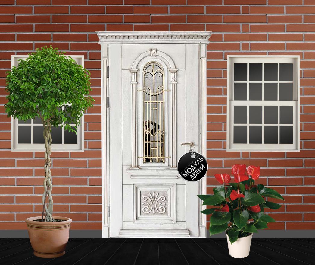 парадные входные двери со стеклом премиум