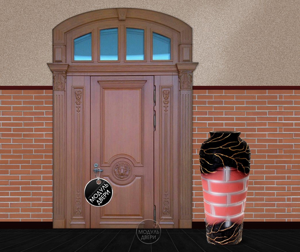 парадные железные двери