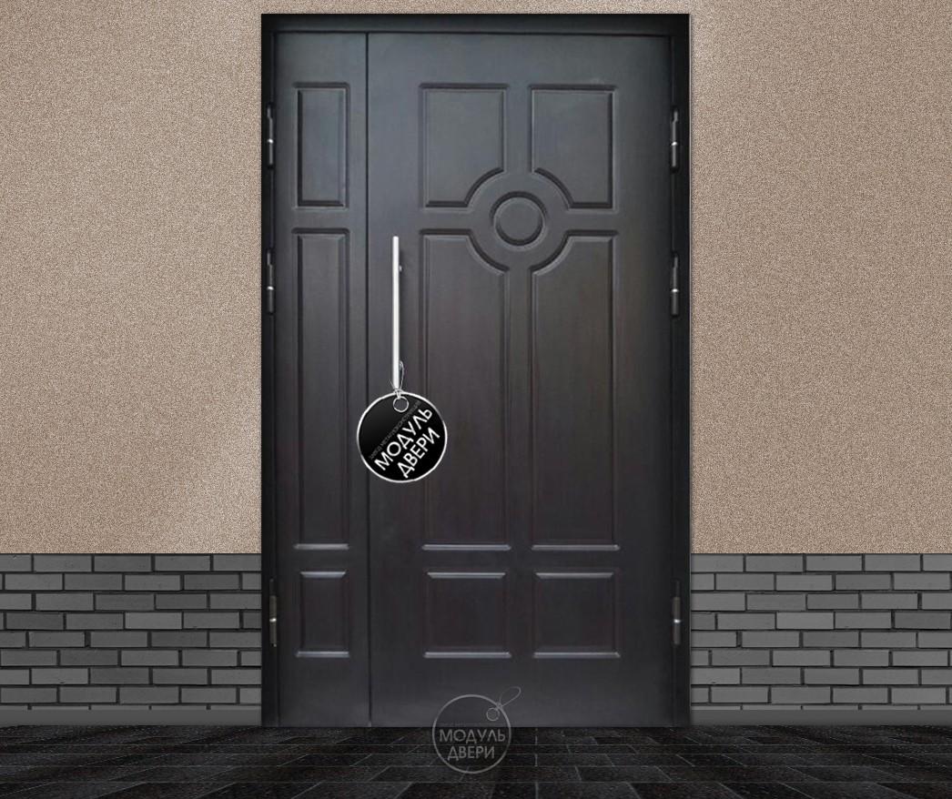 купить стальную подъездну двухстворчатую дверь москва