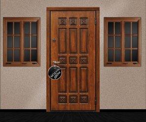 металлические парадные двери на заказ